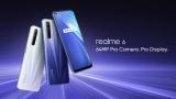 244 € avec coupon pour Realme 6 Global Version 6.5 pouces FHD + 90Hz Taux de rafraîchissement NFC Android 10 4300mA 64MP AI Quad Camera 8GB 128GB Helio G90T 4G Smartphone - White de BANGGOOD
