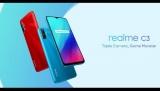 126 € avec coupon pour Realme C3 Global Version 6.5 pouces 5000mAh Android 10 12MP AI Triple Camera Slot 3-Card 3GB 64GB Helio G70 4G Smartphone - Blue de BANGGOOD