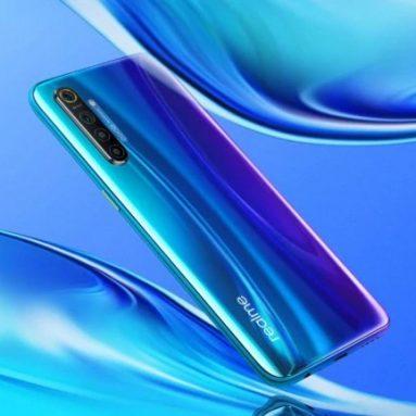 Realme X272 EU 버전 2 인치 FHD + Super AMOLED NFC 6.4mAh 4000MP 쿼드 리어 카메라 쿠폰 포함 € 64 8GB RAM 128GB ROM Snapdragon 730G Octa Core 2.2GHz 4G 스마트 폰 – BANGGOOD의 Pearl Blue