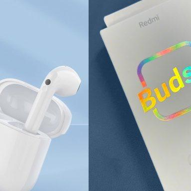 € 39 med kupong for Redmi Buds 3 True Wireless Stereo Earphones Semi-in-ear hodetelefoner fra TOMTOP