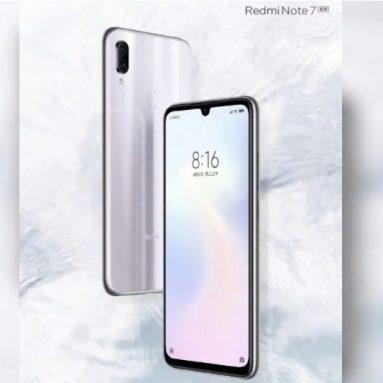 बिक्री पर व्हाइट वेंट में Xiaomi Redmi नोट 7 सीरीज