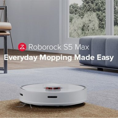 €370 with coupon for Roborock S5 Max Robot Vacuum Cleaner EU POLAND warehouse from GEEKBUYING