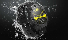 €128 with coupon for [Face Unlock] Rollme S08 True IP68 Waterproof Ceramic Bezel 8MP Dual Camera 4G Smart Watch 3G+32G GPS Glonass 3560mAh Battery Watch Phone from BANGGOOD