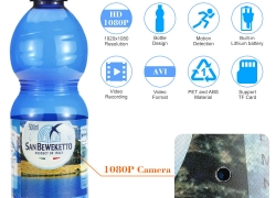 $9 Discount On 1080P Spy Hidden Bottle Camera! from Tomtop INT