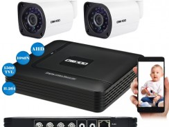 44% OFF OWSOO 4CH 1080N DVR + 2pcs AHD 720P  Bullet NTSC System CCTV Camera,limited offer $65.99 from TOMTOP Technology Co., Ltd