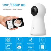 53% OFF 1080P Fish Eye Dual Lens Panoramic Camera,limited offer $43.19 from TOMTOP Technology Co., Ltd