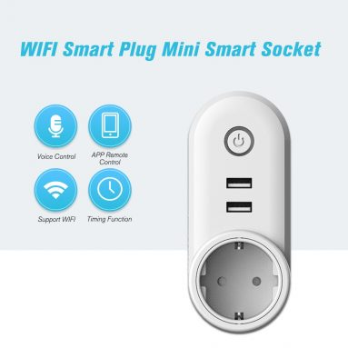 54% OFF WIFI Smart Plug Remote Control Timing Function Wall Socket,limited offer $11.99 from TOMTOP Technology Co., Ltd