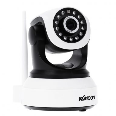 47% OFF KKMOON Wireless Wifi IP Camera P/T Webcam from TOMTOP Technology Co., Ltd