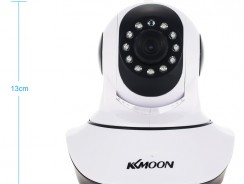 $9 OFF KKmoon? HD 720P WiFi IP Camera Baby Monitor,free shipping $26.99(code:SBM46) from TOMTOP Technology Co., Ltd