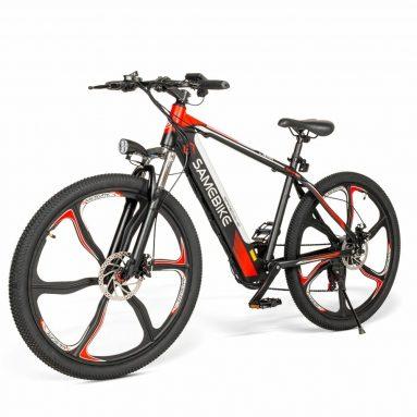 €671 SAMEBIKE SH26-IT 350W 36V 8Ah 26 इंच इलेक्ट्रिक बाइक के लिए कूपन के साथ EU CZ गोदाम BANGGOOD