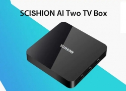 $48 with coupon for SCISHION AI Two TV Box – BLACK EU PLUG from GearBest