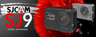 € 188 con coupon per SJCAM SJ9 Strike 4K WiFi Touch Streaming live Ricarica wireless Corpo impermeabile 1300mAh Videocamera sportiva Vlog da BANGGOOD