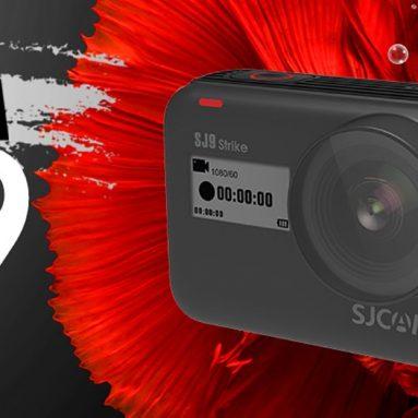 € 188 με κουπόνι για SJCAM SJ9 Strike 4K WiFi Touch Ζωντανή ροή ασύρματης φόρτισης Αδιάβροχο σώμα 1300mAh Vlog Αθλητική φωτογραφική μηχανή από BANGGOOD