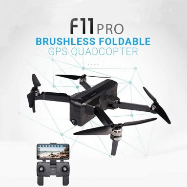 $ 169 với phiếu giảm giá cho SJRC F11 PRO GPS 5G WiFi có thể gập lại FPV RC Drone Brushless quadon RTF từ GEARBEST