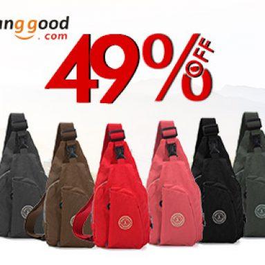 49% OFF Women Men Wash Cloth Casual Väskor från HongKong BangGood Network Ltd.