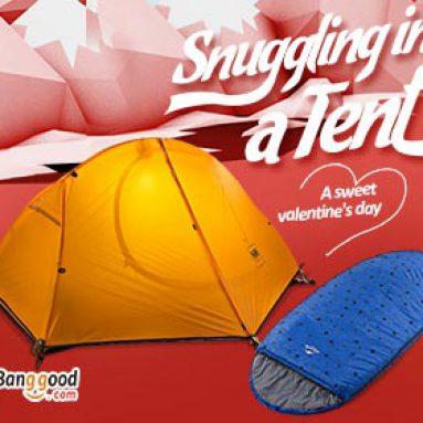 15% OFF Valentine Promotion pro venkovní produkty od společnosti BANGGOOD TECHNOLOGY CO., LIMITED