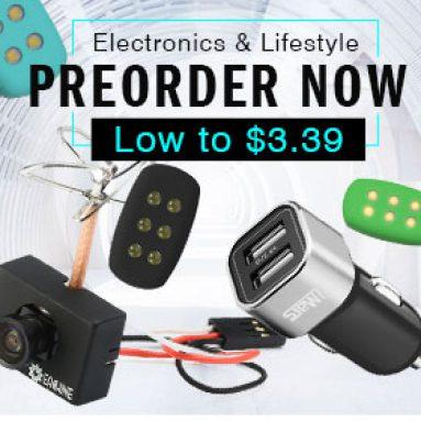 נמוך ל $ 3.39. Preorder עבור אלקטרוניקה & סגנון חיים. מ BANGGOOD טכנולוגיה ושות ', מוגבלת