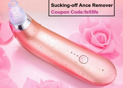 Electric Blackhead Sucking-off Ance Remover Vacuum Microdermabrasion Pore Cleanser Facial Skin Lift from BANGGOOD TECHNOLOGY CO., LIMITED