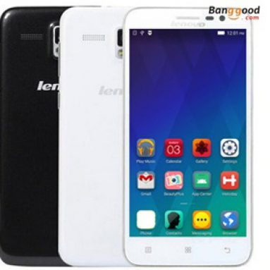 20% OFF for Lenovo A806 5-tommers 2GB RAM 4G Smartphone fra BANGGOOD TECHNOLOGY CO., LIMITED