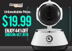 Digoo BB-M1 Wireless WiFi USB Baby Monitor Alarm Home Security IP Camera from BANGGOOD TECHNOLOGY CO., LIMITED