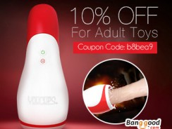 10% OFF for ALL Adult Toys from BANGGOOD TECHNOLOGY CO., LIMITED