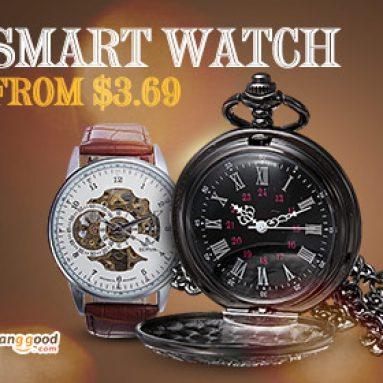Ưu đãi Flash: Đồng hồ thông minh từ $ 3.69! từ CÔNG TY TNHH CÔNG NGHỆ BANGGOOD