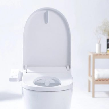 €127 with coupon for SMARTMI Multifunctional Smart Toilet Seat LED Night Light 4-grade Adjustable Water Temp Electronic Bidet From Xiaomi Youpin from BANGGOOD