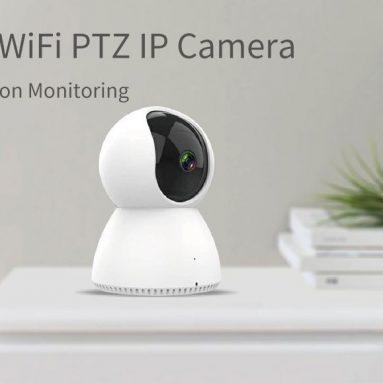 $ 16 SMARTROL H.265 için kuponlu 1080P PTZ 360 ° Gece Sürümü Kablosuz Güvenlik WIFI Onvif IP Kamera Ev Bebek Monitörleri BANGGOOD