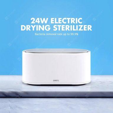 € 24 med kupong til SMATE White UV LED Light Drying Sterilizer fra Xiaomi Youpin fra EU CZ lager BANGGOOD