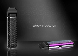 $18 with coupon for SMOK NOVO Kit – BLACK from GearBest