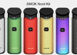 $22 with coupon for SMOK Nord Kit – GOLD from Gearbest