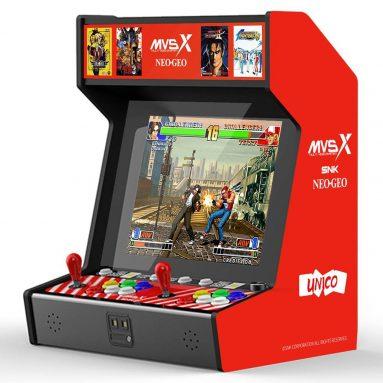 € 462 com cupom para SNK MVSX Arcade Machine 50 SNK Classic Games - Neo Geo Pocket do armazém da UE GEEKBUYING