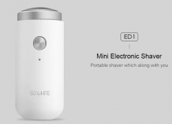 $12 with coupon for SO WHITE ED1 Mini Electric Shaver from Xiaomi youpin from GEARBEST