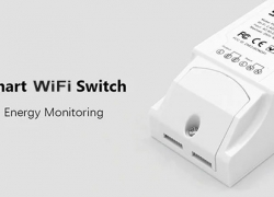 $9 with coupon for SONOFF POW R2 WiFi Smart Light Switch from GearBest