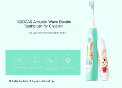 $23 with coupon for SOOCAS C1 Cute Portable Electric Toothbrush for Kids from GEARVITA