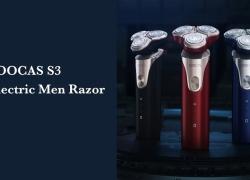 $ 44 dengan kupon untuk SOOCAS S3 Electric Men Washable Razor dari Xiaomi youpin dari GEARBEST