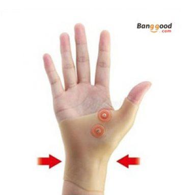 חדש להגיע, סיליקון טיפול מגנטי ג'ל שורש כף היד Tenosynovitis Sprained Brace כפפות להקל על דלקת מפרקים כאב שריר מ BANGGOOD טכנולוגיה ושות ', מוגבלת