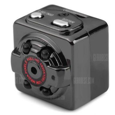 $ 9 με κουπόνι για SQ8 Mini DV Κάμερα 1080P Full HD DVR Μαύρο από GearBest