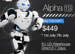 $ 80 OFF Dành cho UBTECH Alpha 1s 3D Robot Humaniod lập trình cho cuộc sống thông minh từ HongKong BangGood network Ltd.