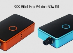 $98 with coupon for SXK Billet Box V4 dna 60w Kit – ORANGE from GearBest