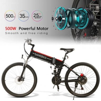 €764 with coupon for Samebike LO26-WHFT 26 Inch Electric Bike from EU GER warehouse TOMTOP