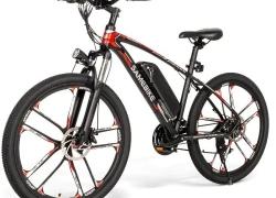 € सैमबाइक के लिए कूपन के साथ 589 MY - GEXBEST से SM26 26 इंच माउंटेन इलेक्ट्रिक साइकिल