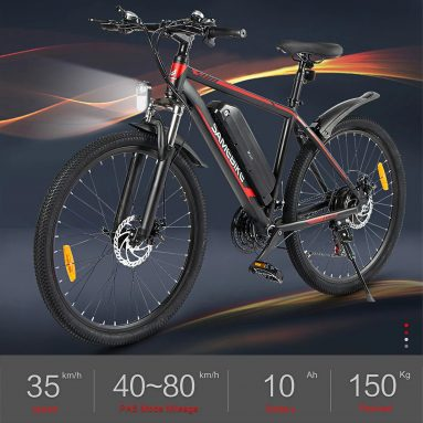 €729 with coupon for Samebike SY26-FT 26Inch Power Assist Electric Bicycle from EU GER warehouse TOMTOP
