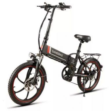 540 مع كوبون لـ Samebike XW-20LY 350W دراجة كهربائية قابلة للطي ذكية من BANGGOOD