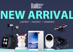 GearBest new arrival product promotion