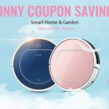 Smart Home GearBest promotions – COUPONS for ILIFE Vacuum Series and more