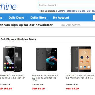 Dealsmachine.com에서 최신 휴대 전화 전체에 대해 8 % 할인 쿠폰 제공