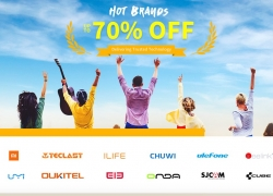 GearBest anniversary Top Brand promotion
