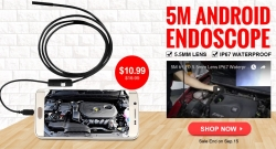 Mini Endoscope Sale, $10.99 for Android Endoscope from FASTBUY INC