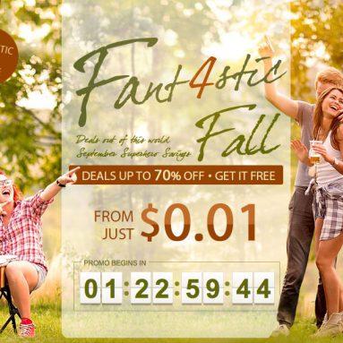 GearBest Fant4stic Fall sale